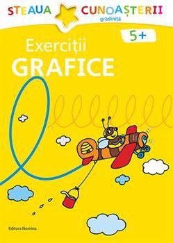 Exerciții grafice 5 ani+ (coperta galbenă) 1