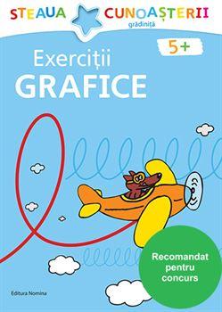 Exerciții grafice 5 ani+ (coperta albastră) 1