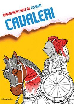 Marea mea carte de colorat Cavaleri 1