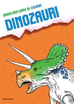 Marea mea carte de colorat Dinozauri 1