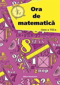 Ora de matematică, clasa a VIII-a 1