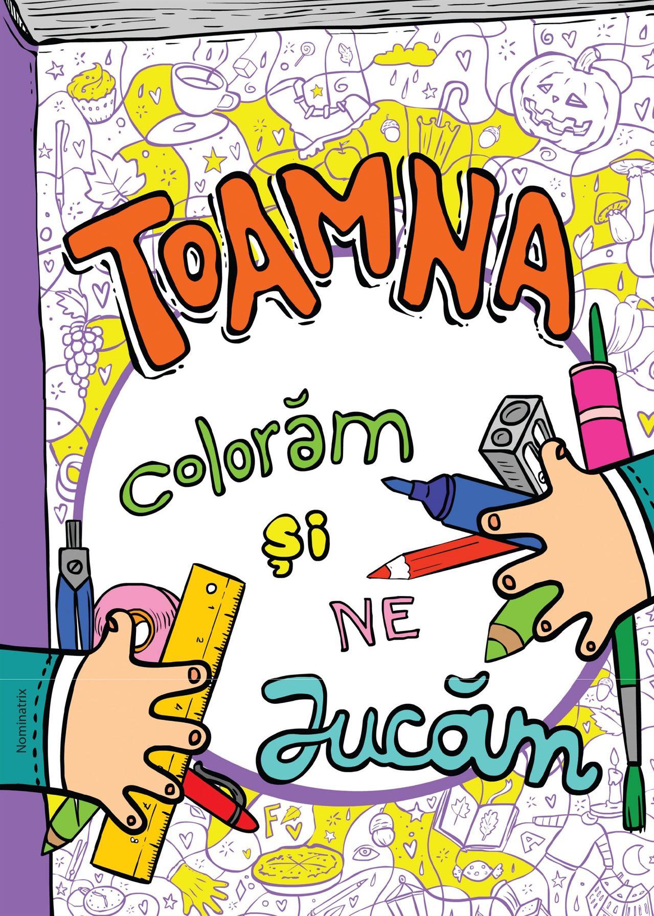 Toamna, colorăm și ne jucăm 1