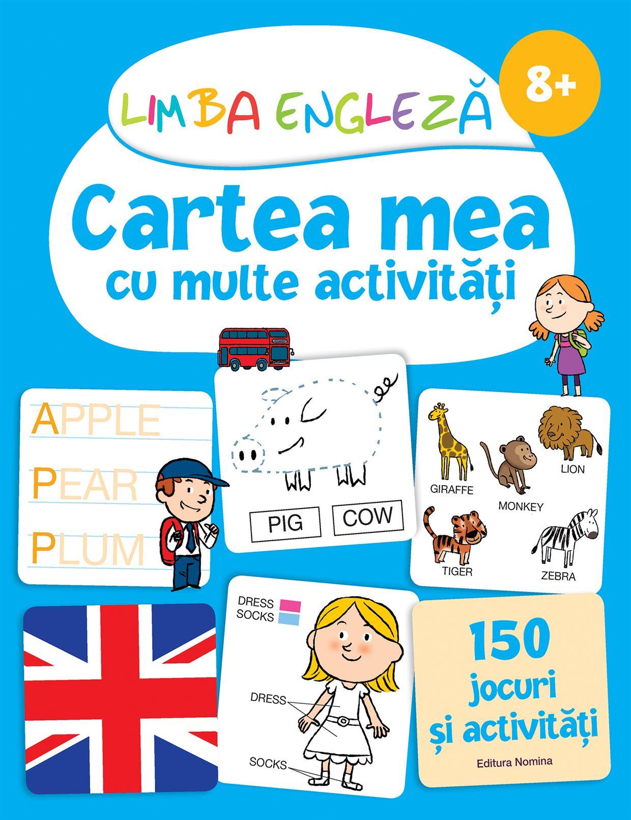 Limba engleză Cartea mea, 8 ani 1