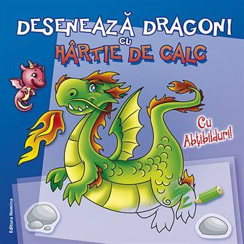 Desenează dragoni cu hârtie de calc 1
