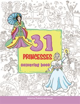 31 Princesses colouring book 1