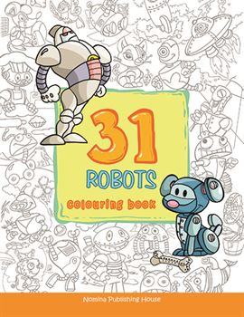 31 robots colouring book 1