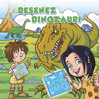 Desenez dinozauri - cu șabloane 1