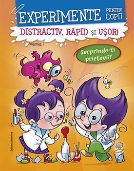 Experimente pentru copii - distractiv, rapid şi uşor, vol 1- portocaliu 1