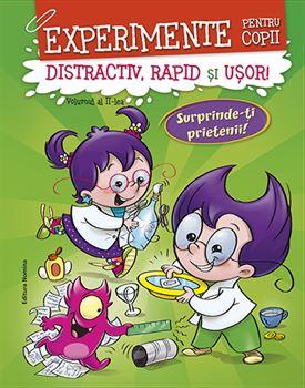 Experimente pentru copii – distractiv, rapid şi uşor, vol. 2 – verde 1