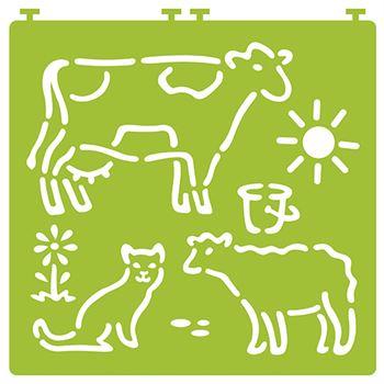 Desenez animale domestice - cu șabloane 2