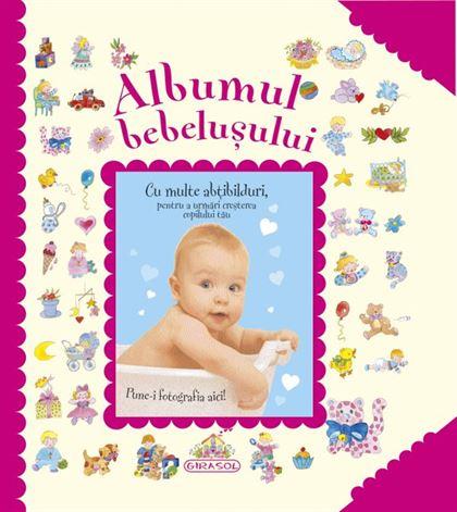 Albumul bebelușului (roz) 1