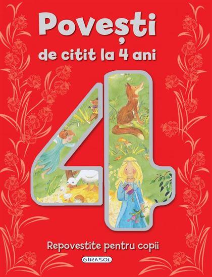 GIRASOL - Povești de citit la 4 ani 1