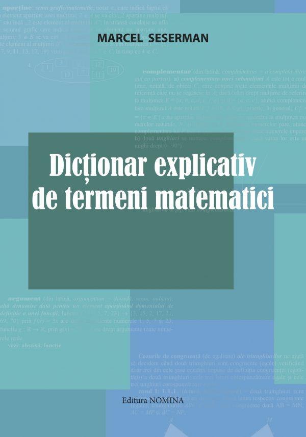 Dictionar explicativ de termeni matematici 1