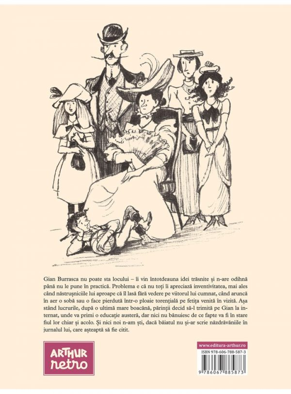 NAZDRAVANIILE LUI GIAN BURRASCA [ARTHUR retro] 2