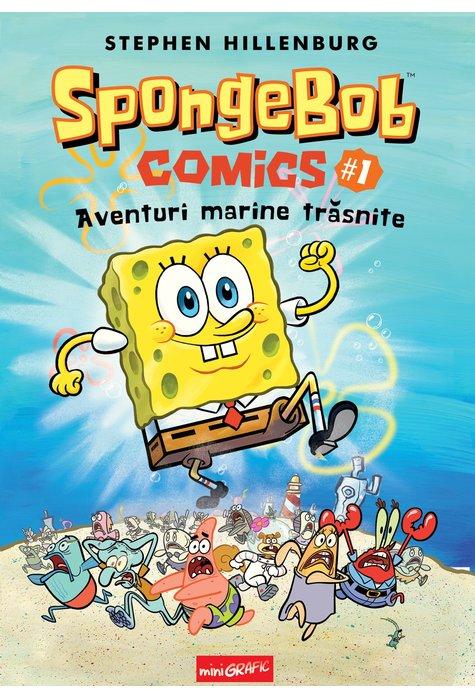 SPONGEBOB COMICS #1: AVENTURI MARINE TRASNITE (Stephen Hillenburg) [miniGRAFIC] 1