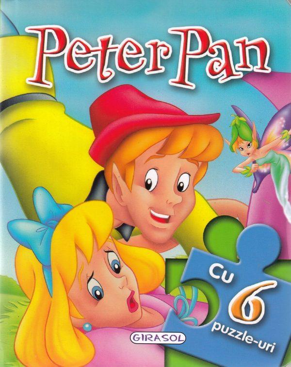 GIRASOL -Peter Pan. Povesti cu 6 puzzle-uri 1