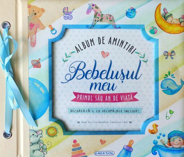 GIRASOL - Album de amintiri: Bebelusul meu (bleu) 1