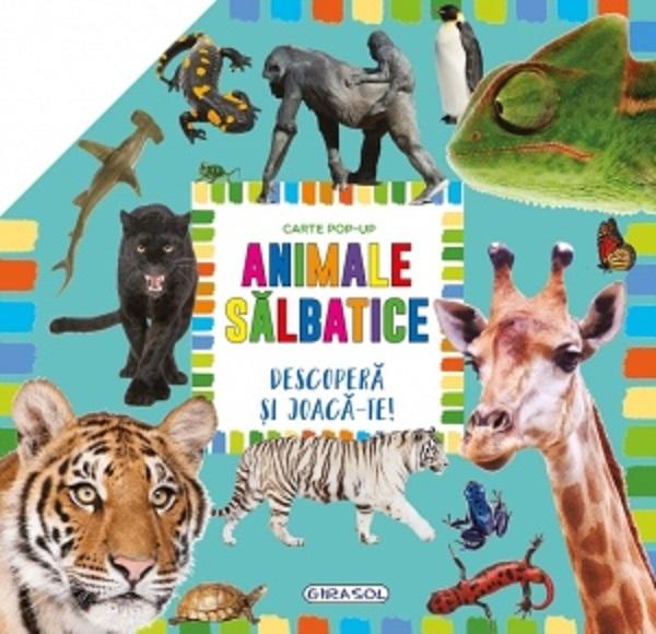 GIRASOL -Carte pop-up: Animale salbatice. 1