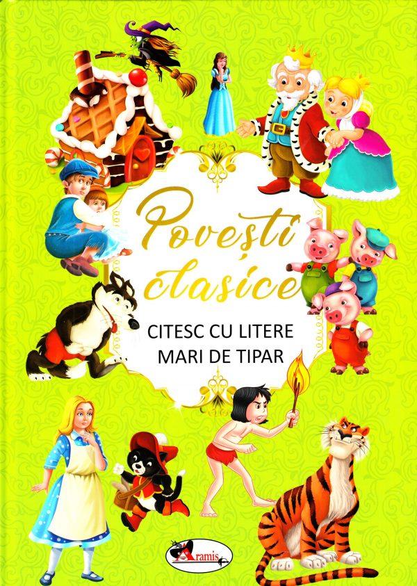 ARAMIS - POVESTI CLASICE - CITESC CU LITERE MARI DE TIPAR 1