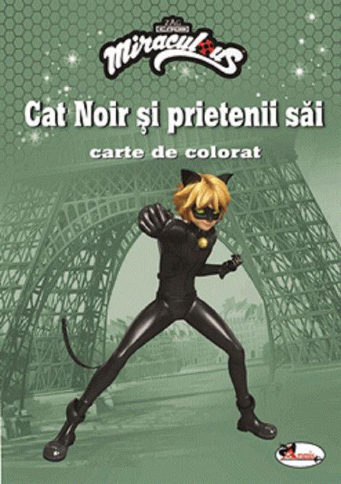 ARAMIS - ZAG - CAT NOIR SI PRIETENII SAI. CARTE DE COLORAT 1