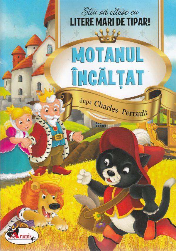 ARAMIS - MOTANUL INCALTAT - LITERE MARI DE TIPAR 1