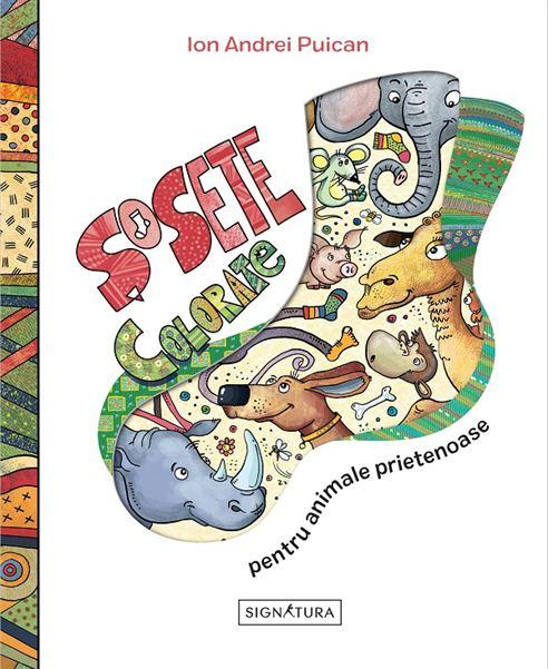SIGNATURA - SOSETE COLORATE PENTRU ANIMALE PRIETENOASE 1